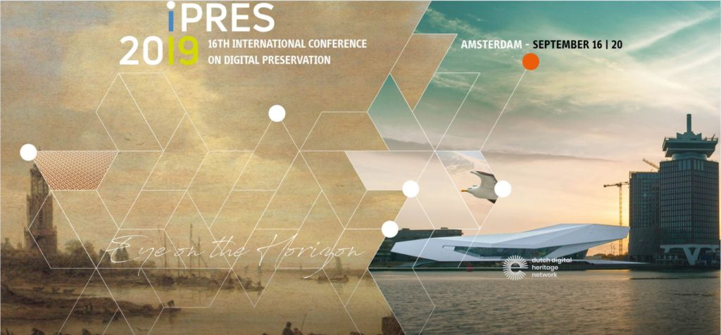 Image promoting the IPRES conference, Amsterdam, September 16-20 2019